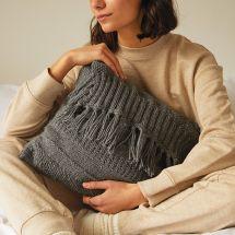 Kit di lavoro a maglia - DMC - Il mio cuscino per il relax