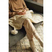 Kit di lavoro a maglia - DMC - La mia coperta accogliente