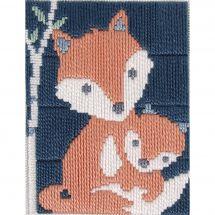 Kit di tela per bambini - DMC - Gaspare la volpe