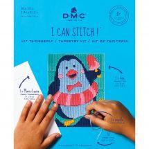 Kit di tela per bambini - DMC - Merlino il pinguino