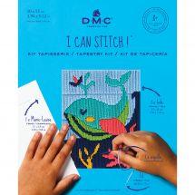 Kit di tela per bambini - DMC - Mylene la balena