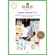 Kit di personalizzazione - DMC - Magic paper Cactus