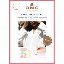 Kit di personalizzazione - DMC - Magic paper Fruits