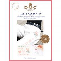 Kit di personalizzazione - DMC - Magic paper Amour
