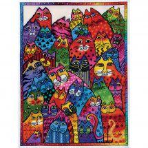 Kit Punto Croce - Design works - Collage di gatti