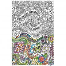 Tela predisegnata - Zenbroidery - Dream