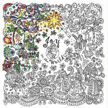 Tela predisegnata - Zenbroidery - Natività