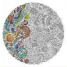 Tela predisegnata - Zenbroidery - Ornamento