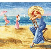 Kit Punto Croce - Toison d'or - Dune di sabbia