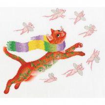 Kit Punto Croce - Toison d'or - La caccia ai topi rosa