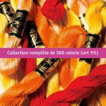 Filo per ricamo - DMC - Collezione completa Perlé (25m)  - Art. 115