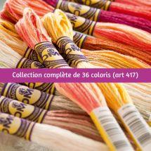 Filo per ricamo - DMC - Collezione completa Color Variation - Art. 417