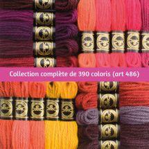 Filati a arazzo  - DMC - Collezione completa Lana Colbert - Art. 486