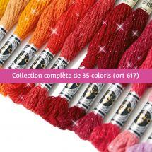Filo per ricamo - DMC - Collezione completa Mouliné Etoile - Art 617 -
