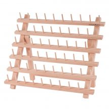 Supporto per bobine - Milward - Portabobine in legno (per 60 bobine)