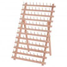 Supporto per bobine - Milward - Portabobine in legno (per 120 bobine)