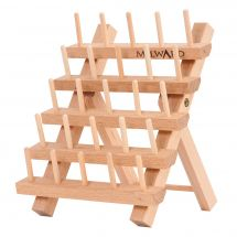 Supporto per bobine - Milward - Porta bobine di legno (per 25 bobine)