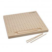 Telaio per la tessitura - Milward - Tavola del telaio di legno - 12 perni