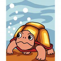 Kit di tela per bambini - Luc Créations - Tartaruga