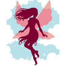 Kit di tela per bambini - Luc Créations - Fata nel cielo