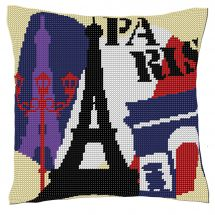 Kit cuscino fori grossi - Luc Créations - Parigi