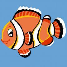 Kit di tela per bambini - Luc Créations - Nemo