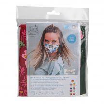 Kit da cucito - LMC - Kit confezione per 3 maschere - N°4