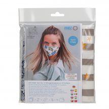 Kit da cucito - LMC - Kit confezione per 3 maschere - N°6