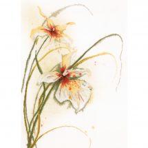 Kit Punto Croce - Lanarte - Orchidee