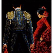 Kit Punto Croce - Lanarte - Passione per il ballo