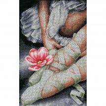 Kit Punto Croce - Lanarte - Le mie scarpe da ballerina