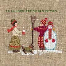 Kit Punto Croce - Le Bonheur des Dames - Pupazzo di neve