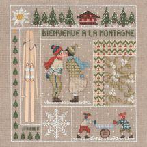 Kit Punto Croce - Le Bonheur des Dames - Benvenuti a gennaio