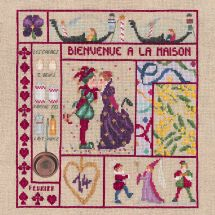 Kit Punto Croce - Le Bonheur des Dames - Benvenuti in Bretagna