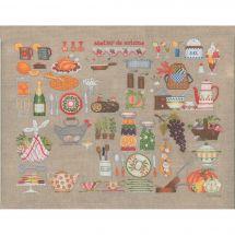 Kit Punto Croce - Le Bonheur des Dames - Officina di cucina