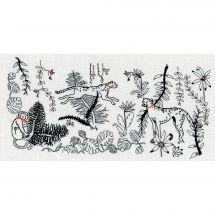 Kit di punti da ricamo - Le Bonheur des Dames - La giungla