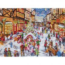 Kit Punto Croce - Letistitch - Vigilia di Natale