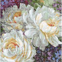 Kit Punto Croce - Letistitch - Le rose bianche