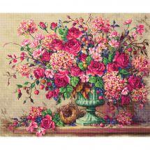 Kit Punto Croce - Letistitch - Composizione floreale