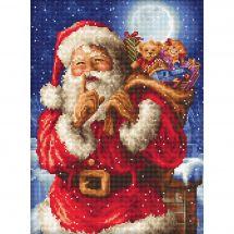 Kit Punto Croce - Letistitch - Il segreto di Babbo Natale
