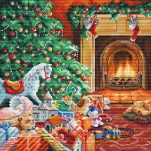 Kit Punto Croce - Luca-S - Caldo Natale