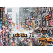 Kit Punto Croce - Letistitch - Cuscino da ricamare New York