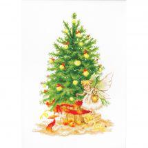 Kit Punto Croce - Luca-S - Albero di Natale da ricamare
