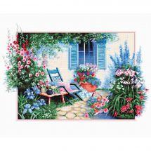 Kit Punto Croce - Luca-S - Giardino di fiori