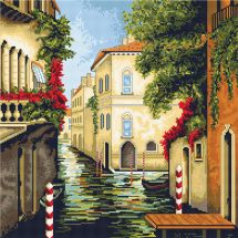 Kit Punto Croce - Luca-S - Venezia in fiore
