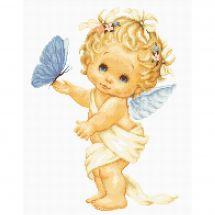 Kit Punto Croce - Luca-S - Farfalla e angelo