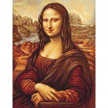 Kit Punto Croce - Luca-S - Mona Lisa dopo Leonardo da Vinci