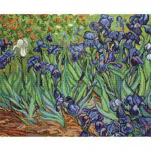Kit Punto Croce - Luca-S - Gli iris dopo Van Gogh