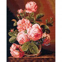 Kit Punto Croce - Luca-S - Mazzo di rose
