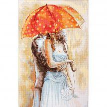 Kit Punto Croce - Luca-S - Sotto l'ombrello